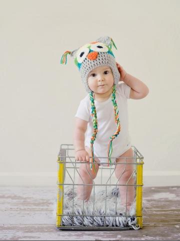 bébé se déguise