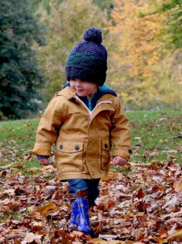 l'enfant et l'automne