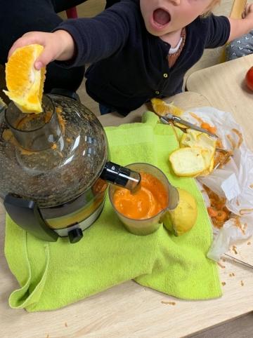 La Semaine du Gout - Atelier jus de fruits