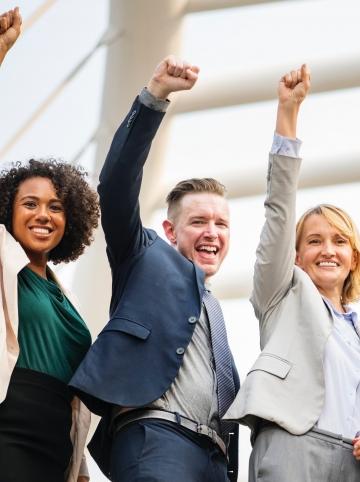salariés heureux - semaine de la qualité de vie au travail 2019