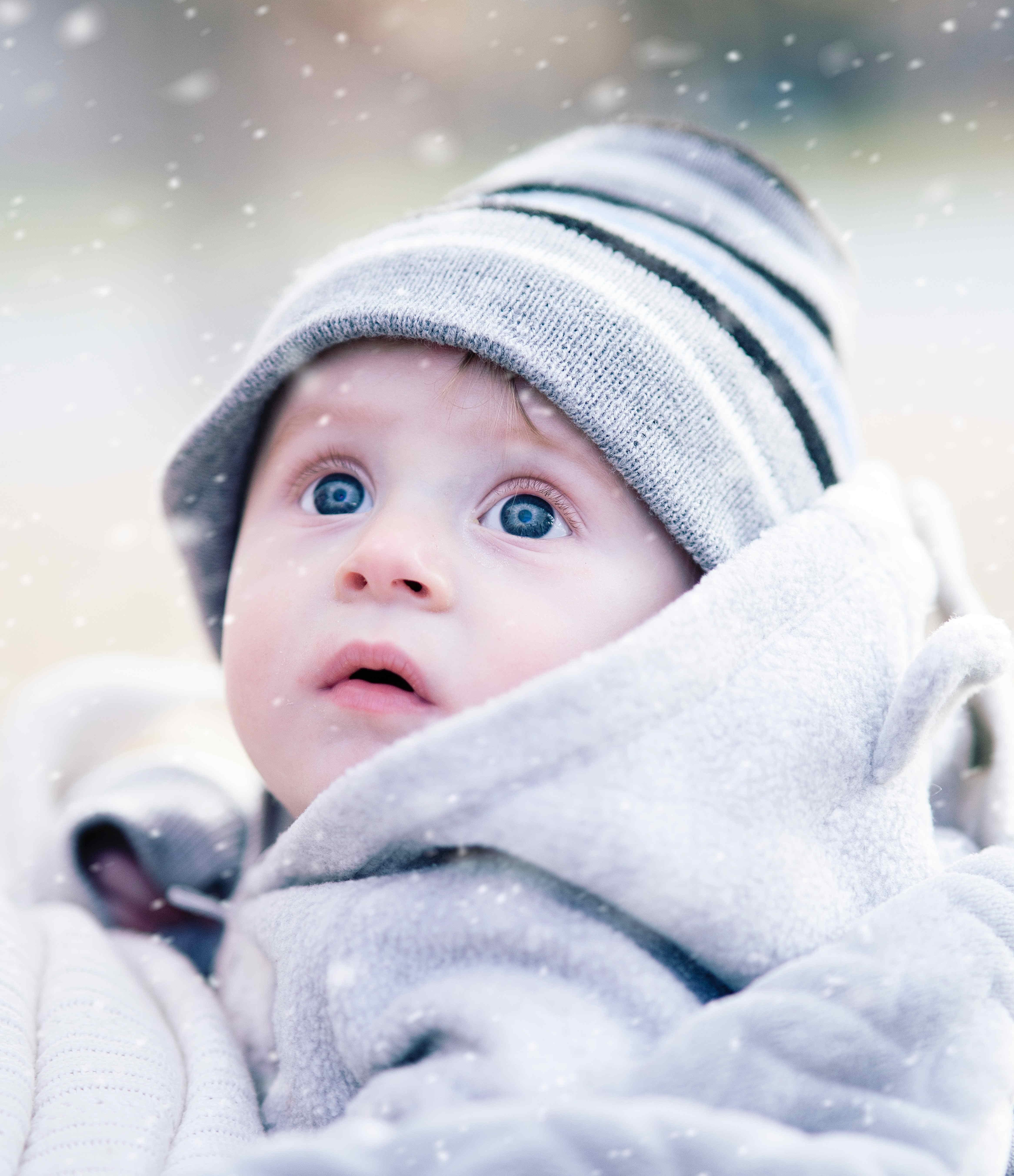 l'enfant et l'hiver