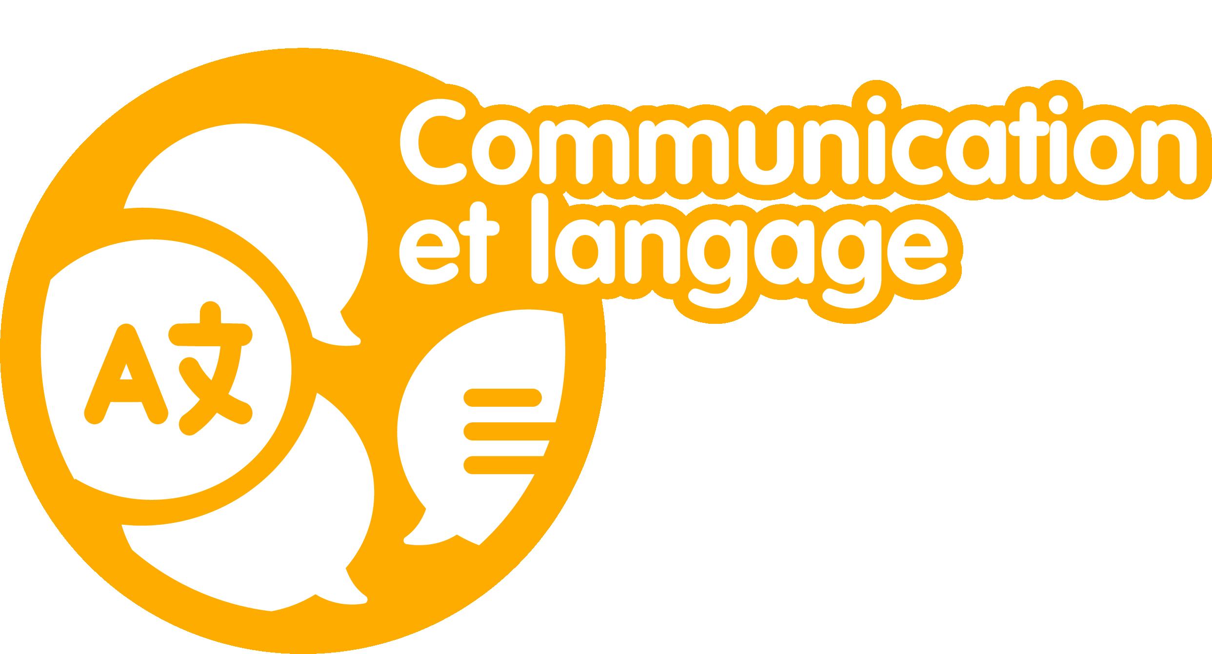 logo communication et langage
