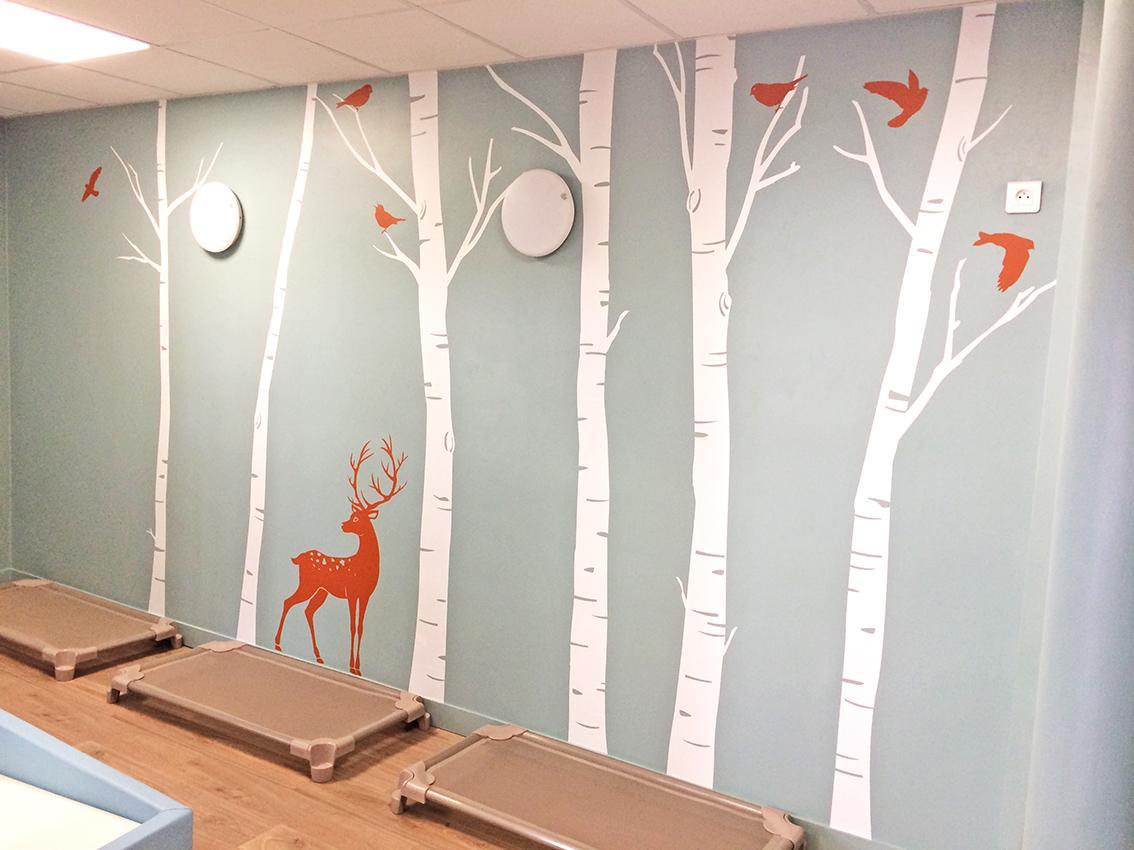 mur arbre