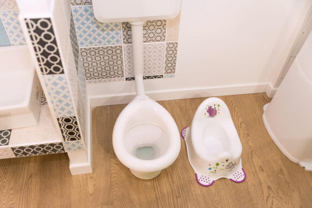 toilette et pot pour enfant