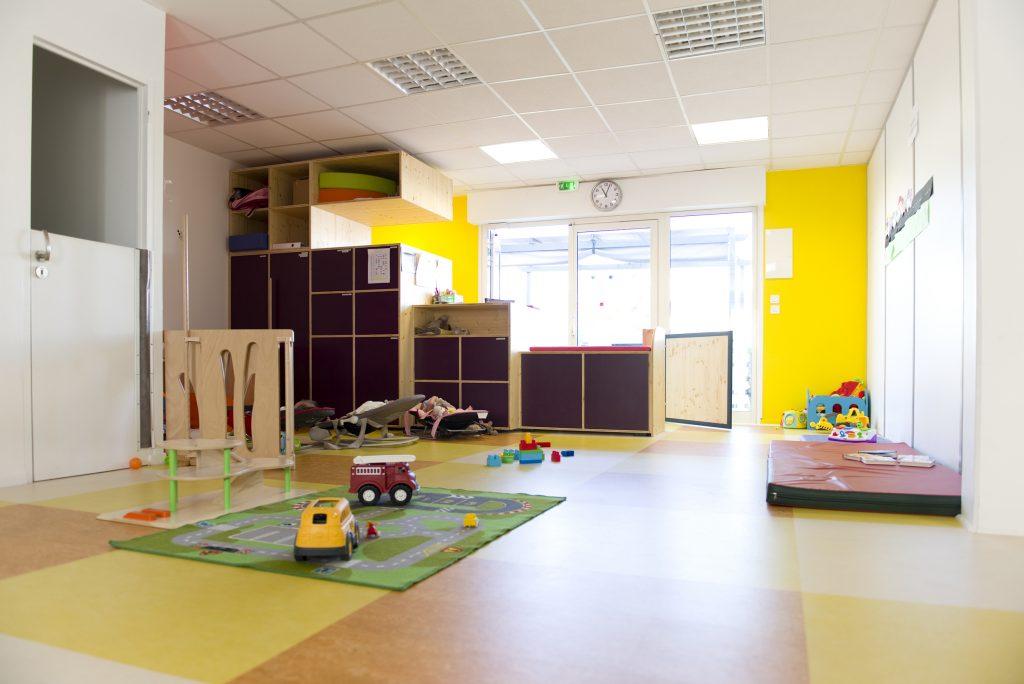 interieur salle jeux enfant