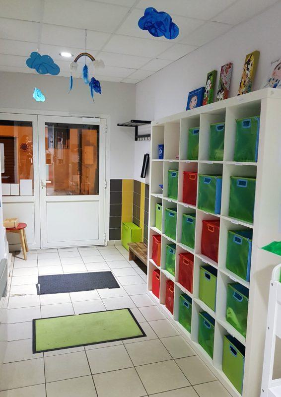 crèche Titi Panpan 3 couloir